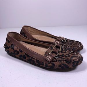 Sperry Top Sider Jenna Leopard Loafer Shoes